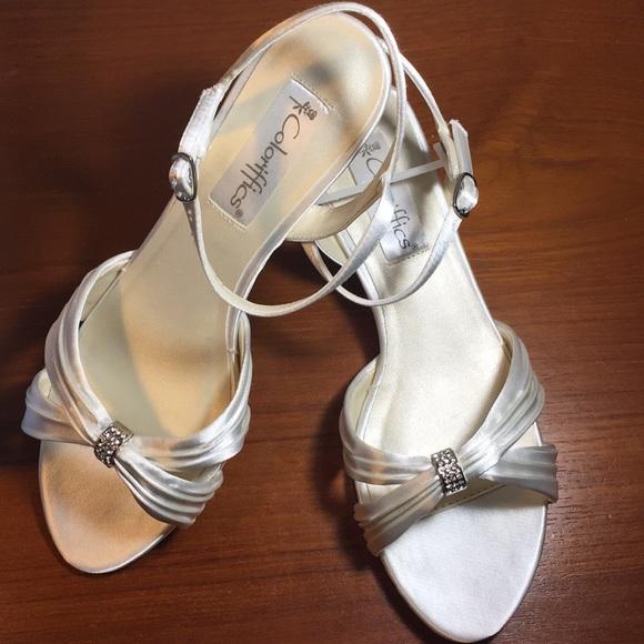 783e816ea95 New Andie Wedding shoes 5 6 7.5 8 9 White low heel. Boutique. Coloriffics